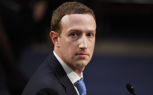 Facebook Inc. Inches Up in Second Day of Zuckerberg Testimony