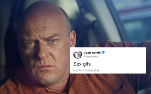 "Can You Help Actor Dean Norris Find ""Sex Gifs"""