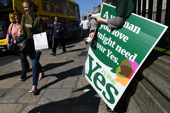 Irish overwhelmingly vote to legalise abortion, exit poll suggests