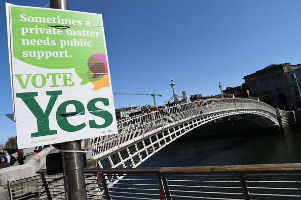 Irish Citizens Vote to Repeal its National Abortion Ban by a Landslide
