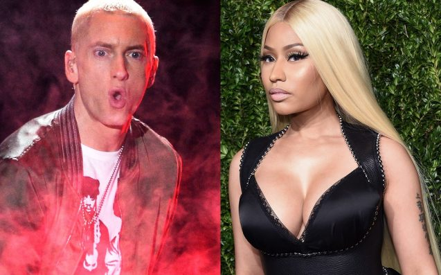 Nicki Minaj is claiming she's engaged to Eminem