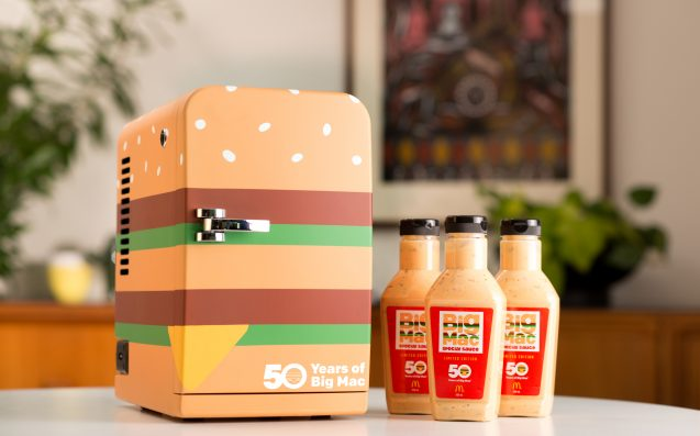 Macca's Are Releasing Bottled Big Mac Sauce Again & You Could Get It First