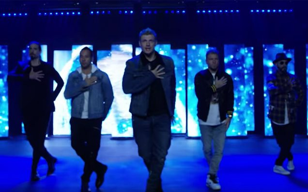 Backstreet's back! Backstreet Boys drop new single 'Don't Go Breaking My Heart'