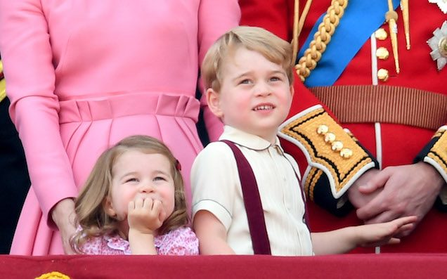 Prince George & Princess Charlotte Make The Cut For The Louis-Free Royal Bridal Party