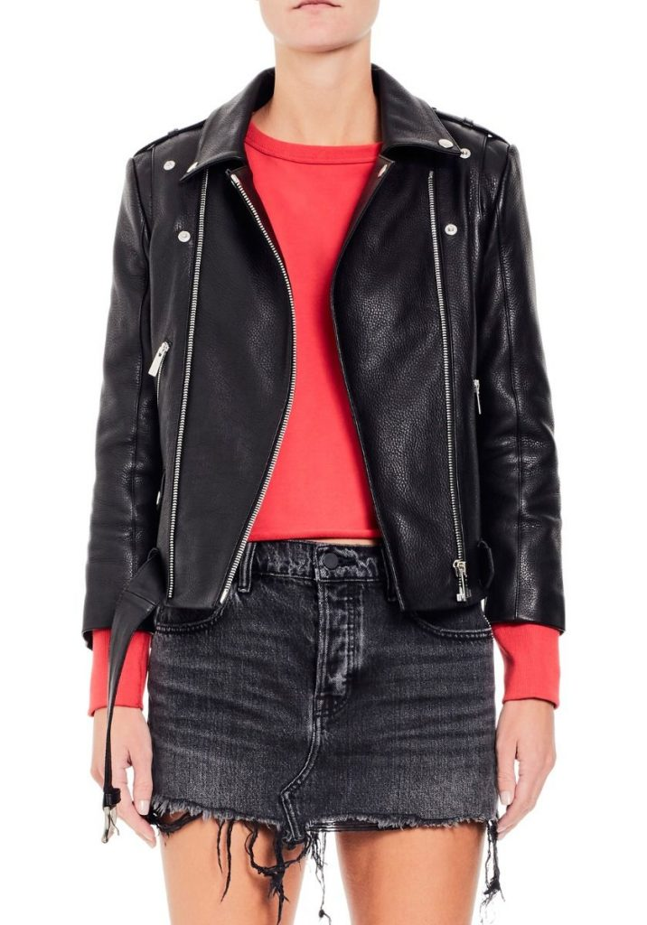 Balfern Leather Biker Jacket - us.allsaints.com