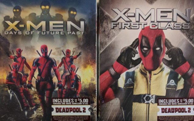 Deadpool Has Gone Wandering & Is Showing Up On Random BluRay Covers