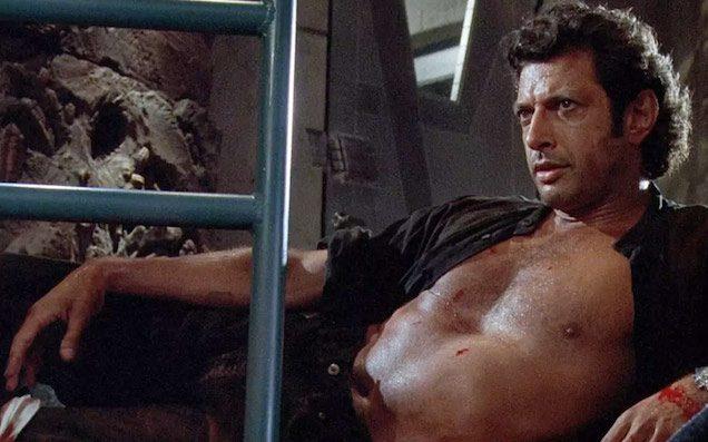 Sweaty, Sexy Dr Malcolm In 'Jurassic Park' Was 100% Jeff Goldblum's Idea