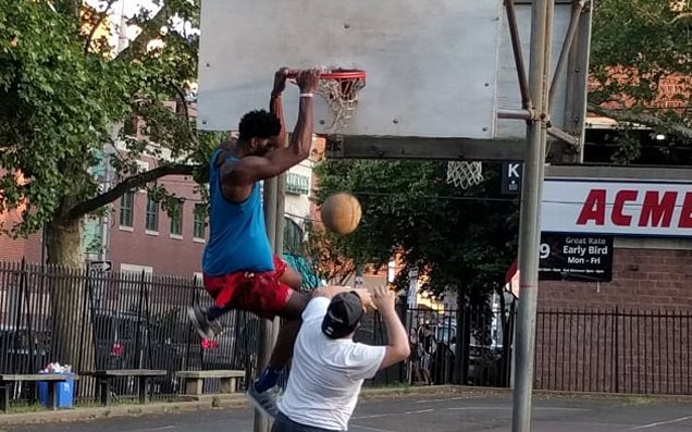 Joel Embiid's playground game in Philadelphia is really disrespectful