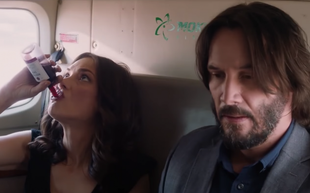 Keanu & Winona Despise Each Other In The Most Perfect Rom-Com Trailer Ever