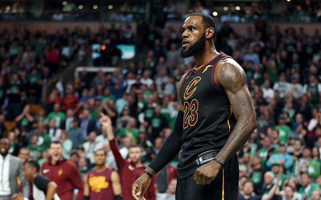 LeBron James leads Cleveland back to National Basketball Association finals for fourth straight year
