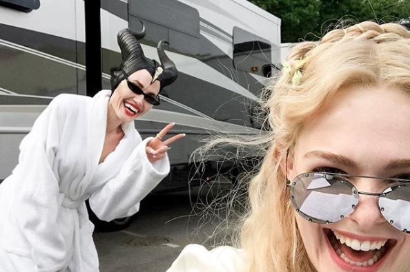 Angelina Jolie & Elle Fanning Are Back To Warm Our Hearts In 'Maleficent 2'