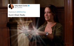 Holly Marie Combs Charmed Reboot Twitter War Director Brad Silberling