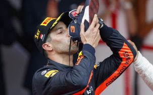 Daniel Ricciardo Claims Another Win And Another Shoey At Monaco Grand Prix