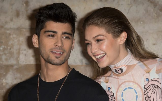 Gigi Hadid and Zayn Malik spotted kissing after break-up