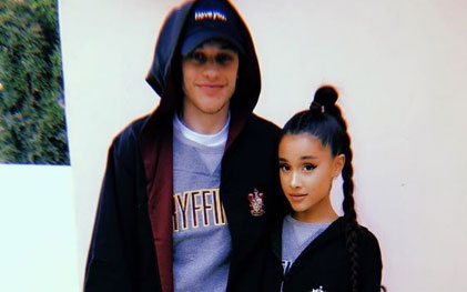 Ariana Grande & Pete Davidson Are Reportedly Engaged And We Have Fkn Whiplash