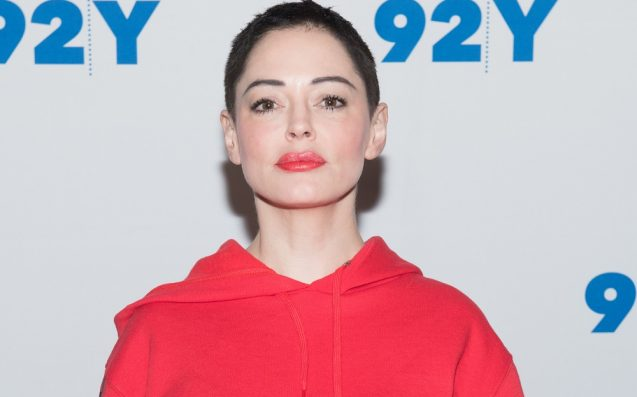 Rose McGowan Indicted On Drug Charge In Virginia