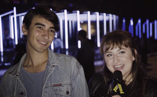 WATCH: We Asked Vivid Sydney Punters What's Much Better In The Dark