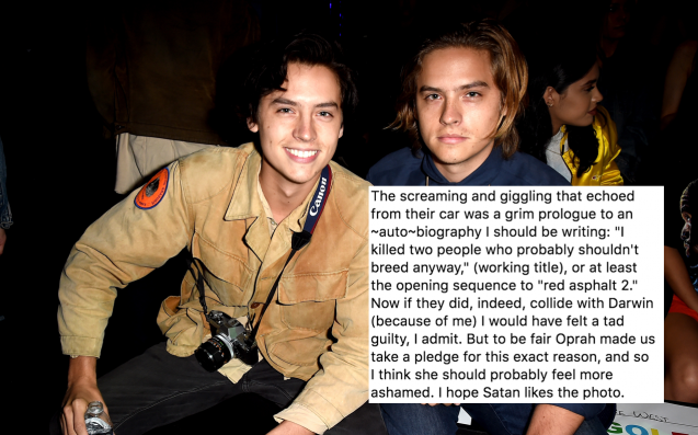 Here's Some Of The Sickest Burns From Cole Sprouse's 'Camera Duels' Instagram