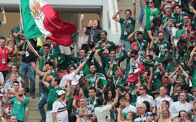 Mexico beats cup holders Germany