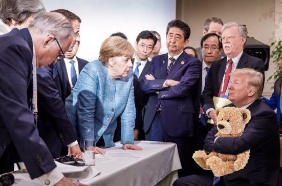 Donald Trump's G7 Tweets Were Depressing, Says Angela Merkel