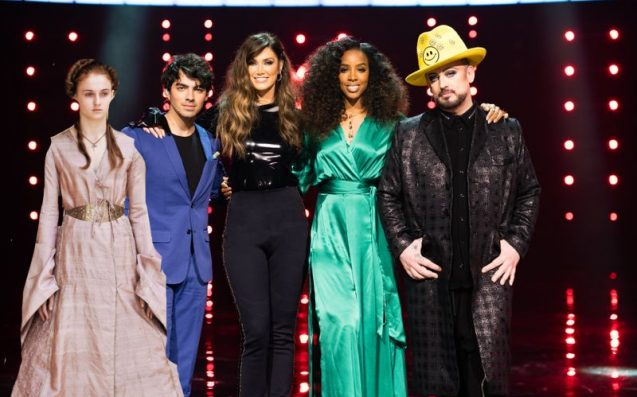'The Voice' Crew & Sansa Stark Are Out In Sydney Rn For Boy George's Bday